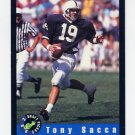 1992 Classic Football #25 Tony Sacca - Phoenix Cardinals