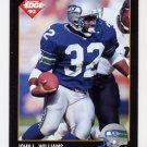 1992 Collector's Edge Football #163 John L. Williams - Seattle Seahawks