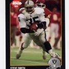 1992 Collector's Edge Football #082 Steve Smith - Los Angeles Raiders