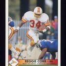 1992 Pacific Football Statistical Leaders Insert #27 Reggie Cobb - Tampa Bay Buccaneers