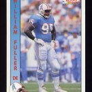 1992 Pacific Football #437 William Fuller - Houston Oilers