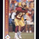 1992 Pacific Football #321 Terrell Buckley RC - Green Bay Packers