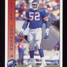 1992 Pacific Football #213 Pepper Johnson - New York Giants