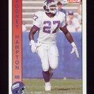 1992 Pacific Football #211 Rodney Hampton - New York Giants