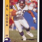 1992 Pacific Football #181 Al Noga - Minnesota Vikings