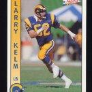 1992 Pacific Football #165 Larry Kelm - Los Angeles Rams