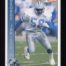 1992 Pacific Football #093 George Jamison - Detroit Lions