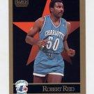 1990-91 Skybox Basketball #033 Robert Reid - Charlotte Hornets