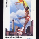 1991-92 Skybox Basketball #588 Dominique Wilkins - Atlanta Hawks
