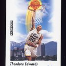1991-92 Skybox Basketball #580 Blue Edwards - Utah Jazz
