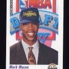 1991-92 Skybox Basketball #520 Mark Macon RC - Denver Nuggets