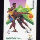1991-92 Skybox Basketball #163 Alvin Robertson - Milwaukee Bucks