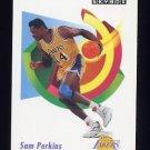 1991-92 Skybox Basketball #138 Sam Perkins - Los Angeles Lakers
