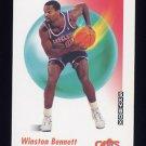 1991-92 Skybox Basketball #045 Winston Bennett - Cleveland Cavaliers