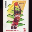 1991-92 Skybox Basketball #010 Dominique Wilkins - Atlanta Hawks