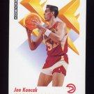 1991-92 Skybox Basketball #003 Jon Koncak - Atlanta Hawks