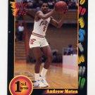 1991-92 Wildcard Basketball #107 Andrew Moten - Florida Ex