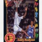 1991-92 Wildcard Basketball #087 Cedric Henderson - Georgia Ex