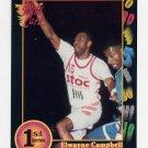 1991-92 Wildcard Basketball #085 Elwayne Campbell - Henderson State Ex