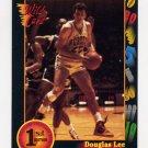 1991-92 Wildcard Basketball #071 Doug Lee - Purdue Ex