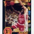1991-92 Wildcard Basketball #059 Butch Wade - Michigan Ex