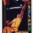 1991-92 Wildcard Basketball #042 Ronald Coleman - U.S.C. Ex