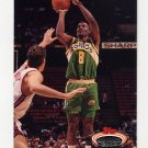 1992-93 Stadium Club Basketball #171 Eddie Johnson - Seattle Supersonics