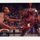 1992-93 Stadium Club Basketball #105 Ron Anderson - Philadelphia 76ers