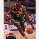 1992-93 Stadium Club Basketball #075 Derrick McKey - Seattle Supersonics
