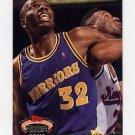 1992-93 Stadium Club Basketball #042 Tyrone Hill - Golden State Warriors