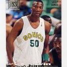 1993-94 Stadium Club Basketball #036 Ervin Johnson RC - Seattle Supersonics