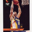 1993-94 Ultra Basketball #258 Antonio Davis RC - Indiana Pacers