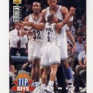 1994-95 Collector's Choice Basketball #168 Alonzo Mourning TO - Charlotte Hornets