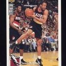 1994-95 Collector's Choice Basketball #026 James Robinson - Portland Trail Blazers