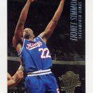 1994-95 Ultra Basketball #167 Lionel Simmons - Sacramento Kings