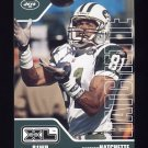 2002 Upper Deck XL Football #316 Matthew Hatchette - New York Jets