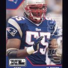 2002 Upper Deck XL Football #279 Willie McGinest - New England Patriots
