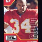 2002 Upper Deck XL Football #230 Mike Cloud - Kansas City Chiefs