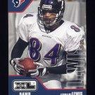 2002 Upper Deck XL Football #196 Jermaine Lewis - Houston Texans