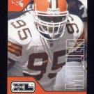 2002 Upper Deck XL Football #121 Jamir Miller - Cleveland Browns