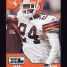 2002 Upper Deck XL Football #115 Corey Fuller - Cleveland Browns
