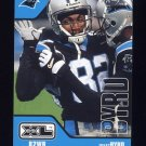 2002 Upper Deck XL Football #073 Isaac Byrd - Carolina Panthers