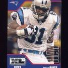2002 Upper Deck XL Football #071 Donald Hayes - New England Patriots