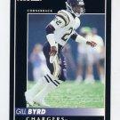 1992 Pinnacle Football #252 Gill Byrd - San Diego Chargers
