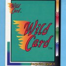 1992 Wild Card Football Surprise Card #1 Redemption Card
