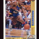 1991-92 Upper Deck Basketball #295 Jerome Lane - Denver Nuggets