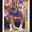 1991-92 Upper Deck Basketball #222 Marcus Liberty - Denver Nuggets