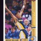 1991-92 Upper Deck Basketball #215 Micheal Williams - Indiana Pacers