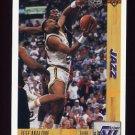 1991-92 Upper Deck Basketball #166 Jeff Malone - Utah Jazz