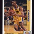 1991-92 Upper Deck Basketball #126 Elden Campbell - Los Angeles Lakers